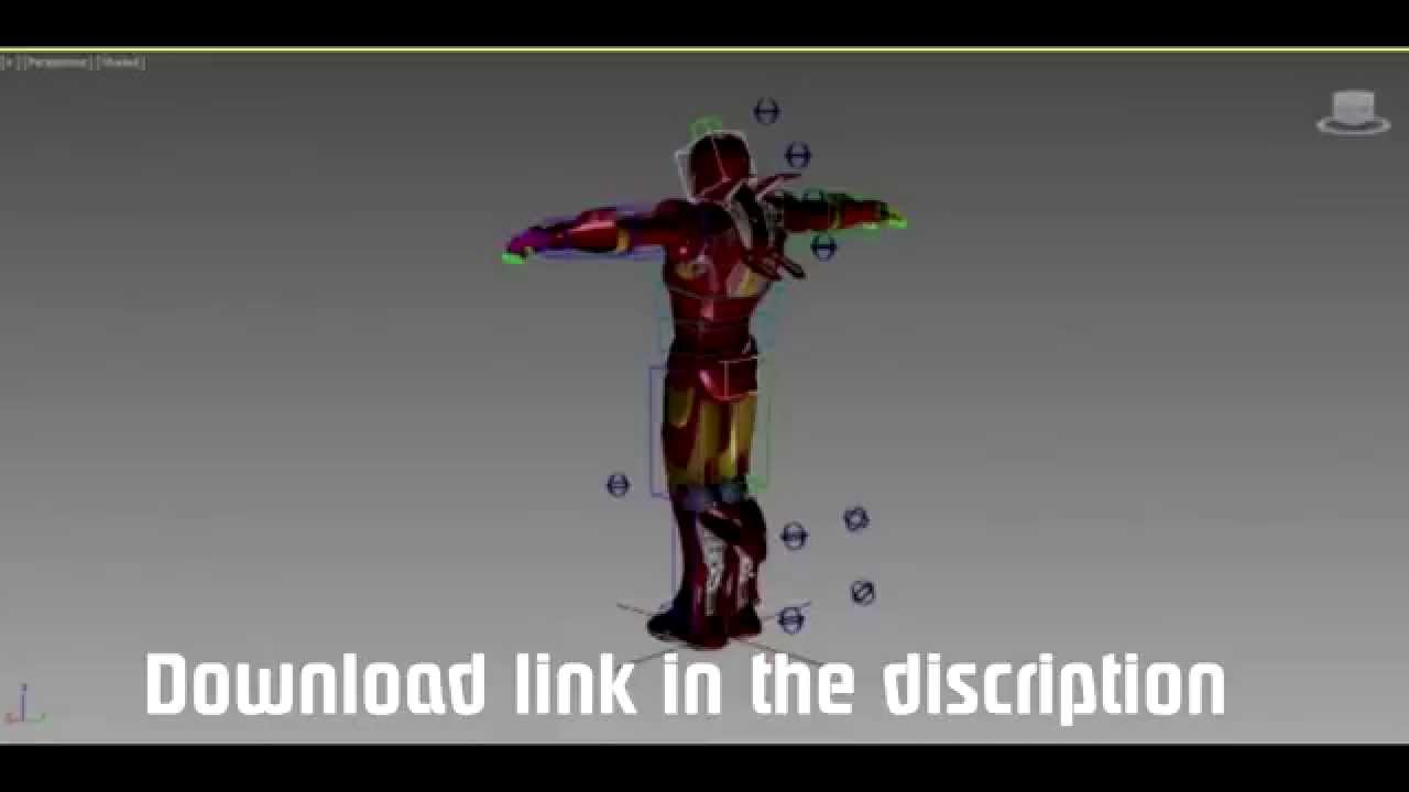3d Models Free Download Obj Free Iron Man 3d Model