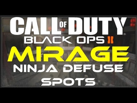 Black Ops 2 - Mirage Ninja Defuse Spots / Tutorial (Revolution Map Pack) by Product Shard