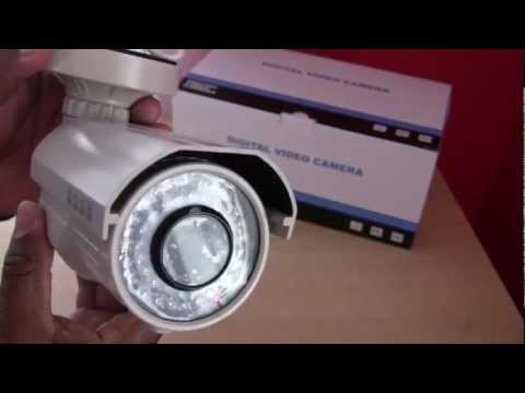 Outdoor CCTV Security Camera CWX-600VIR Bullet 600 TV Line CCTV Review