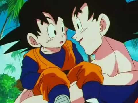 Goku conoce a Goten