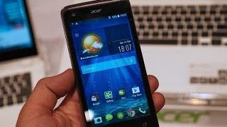 New Acer Liquid Z410 Hands On Review - CES 2015