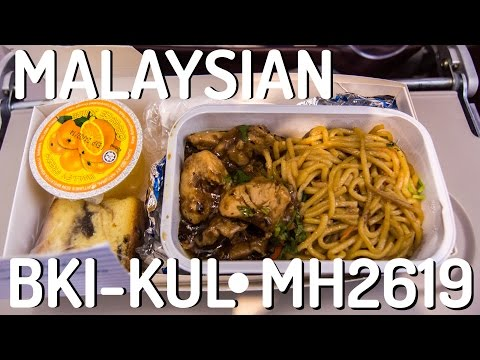 Malaysia Airlines MH2619 : Flying from Kota Kinabalu to Kuala Lumpur