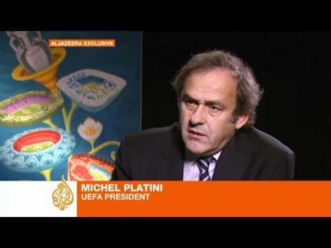 Platini: Qatar 2022 should be held in winter