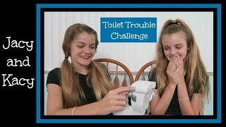 Water Roulette Challenge ~ Toilet Trouble Game ~ Jacy and Kacy