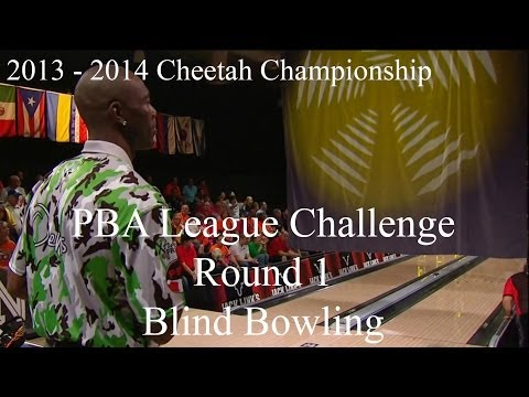 2013 - 2014 PBA League Challenge Round 1 - Blind Bowling