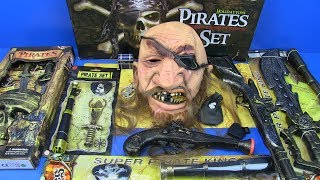 Box of Toys ! Pirates Guns Toys,Weapons & Equipment Kids Toys