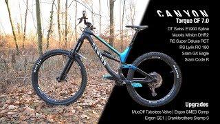NEW Canyon TORQUE CF 7.0 2019 – Unboxing, Assembling & Bikeporn | enduroshred