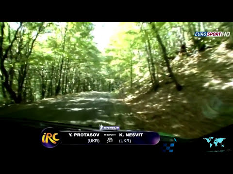 IRC (Intercontinental Rally Challenge) 2012 Season Review in Eurosport HD