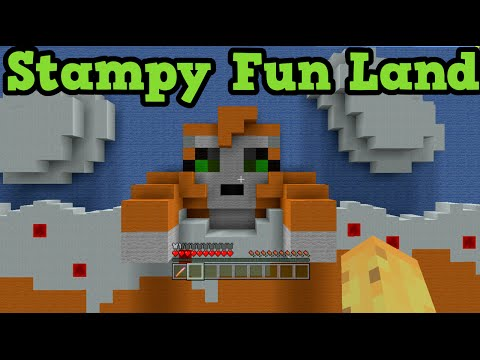 Minecraft Xbox Hide and Seek Stampylonghead Fun Land