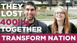 Transform Nation (Ep 4): Meet Patrick & Eva | MARRIED COUPLE LOSES 420 LBS TOGETHER