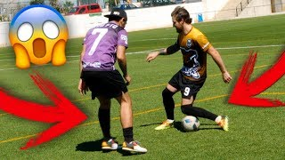 FTBOL O RUGBY? Partidos de Ftbol Youtubers VS Suscriptores LIGA 2 VS 2 Football Tricks Online