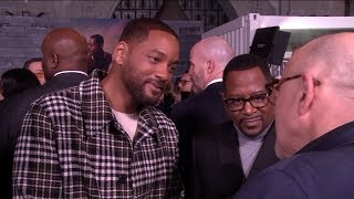 Will Smith, Martin Lawrence talk chemistry, stunt work at 'Bad Boys for Life' premiere