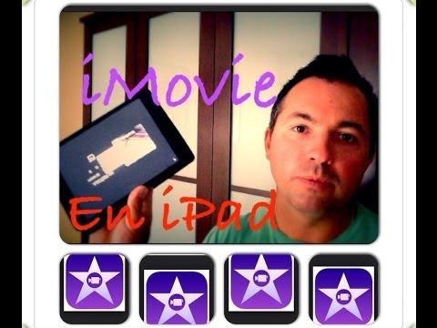 Como crear pelicula video con iMovie iPad Mini iPhone 6 Rápido y Sencillo