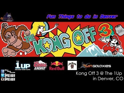 Fun Things: The Kong Off 3 @ The 1Up in Denver, CO.