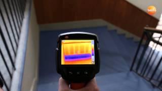 Termocamera testo 870 in edilizia: ponti termici e efficienza energetica.