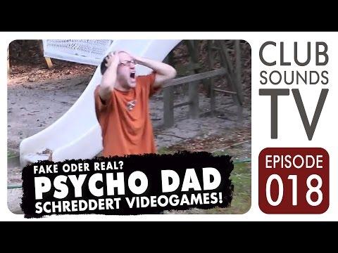 ★ Psycho Vater schreddert Videospiele! ► fake oder real? ★