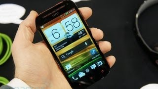 HTC One SV For Cricket, Hands On Review | Engadget At CES 2013