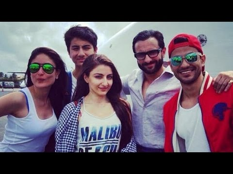 Kareena Kapoor Khan's SUMMER HOLIDAY photos with beau Saif Ali Khan & son Ibrahim Khan