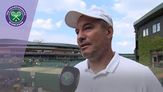 Simona Halep's coach Daniel Dobre delighted with her Wimbledon 2019 win