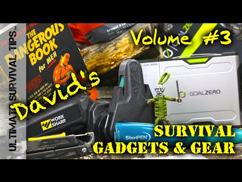 11+ MORE Gadgets / Gifts / Gear - Volume #3 - Camping / Bugout Gear
