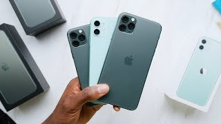 Unboxing Every Green iPhone 11!