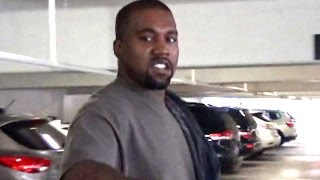 Kanye West Makes Time For The Gym