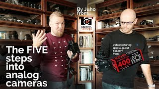 The Five Steps on Getting into Analog Cameras