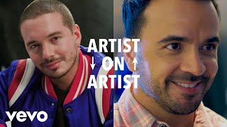 J Balvin, Luis Fonsi - J Balvin and Luis Fonsi Trade Valentine's Day Stories