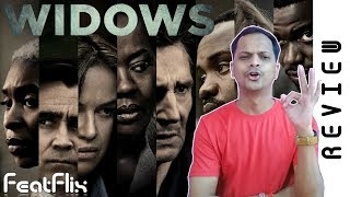 Widows (2018) Crime, Drama, Thriller Movie Review In Hindi | FeatFlix