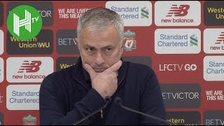 Liverpool 3-1 Man Utd | Jose Mourinho's FINAL press conference as Manchester United manager