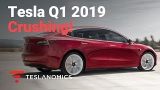 Tesla Destroys Q1 2019