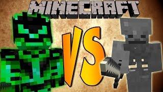 INFERNAL LORD VS SKELETON KING - Minecraft Batallas de Mobs - Mods