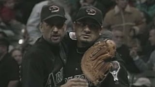 ARI@MIL: D-backs clinch the NL West in 2001