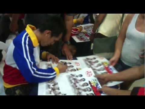 Pinoy Pride XI Calendar Signing. ( Gaisano Tabunok, Talisay City Cebu)