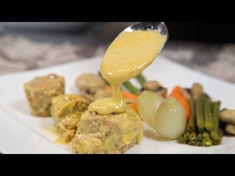 Blanquette de veau et légumes croquants, une recette à tomber !