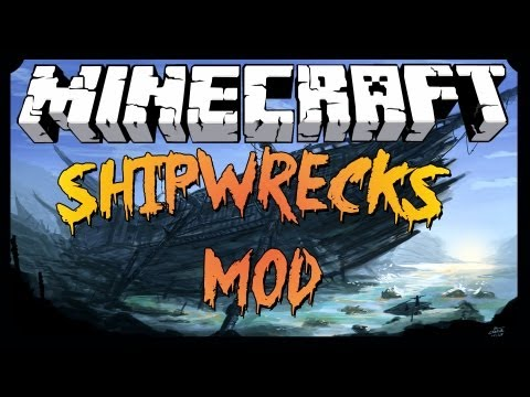 [MINECRAFT] Shipwrecks Mod- Makes the ocean worth exploring! [1.6.2]