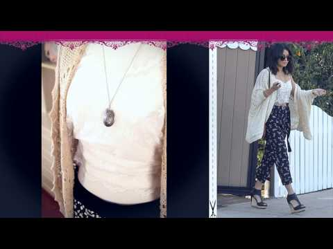 Vanessa Hudgens Look - Dress Like Vanessa Hudgens - Best Look Outfit & Hot Style Eryka Couture