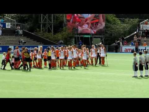 Floortje Emma 3 EK Hockey 2009 Nederland - Spanje