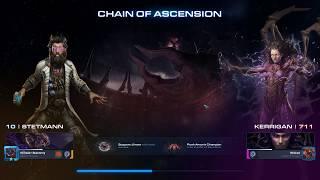 StarCraft 2 Co-Op Chain of Ascension Stetmann lvl 10-11