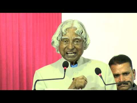 A. P. J. Abdul Kalam's Amazing Speech at Queen Mary's College Chennai - Redpix 24x7