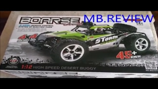Amzdeal High Speed RC Buggy 4WD 45km/h 1:12 Truck 4WD