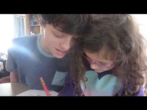 How To Annoy Your Sister While Taking A Test (wk 216.7) | Bratayley video