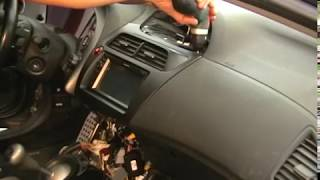 Radio removal Civic  / Instalación GPS Honda Civic / Gps  Civic