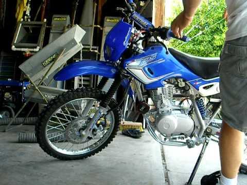 Baja dr -125 street legal dirt bike WTF! - YouTube