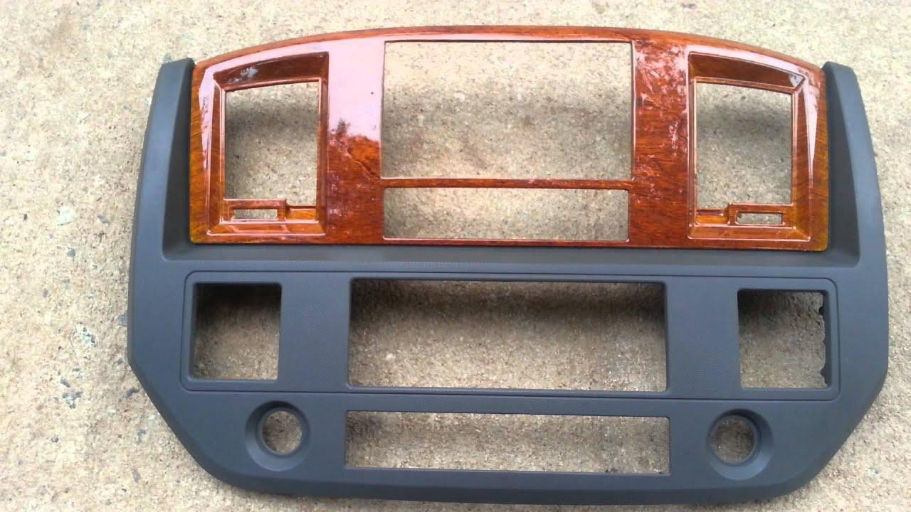 2006 2007 2008 Dodge Ram double DIN in woodgrain via ...