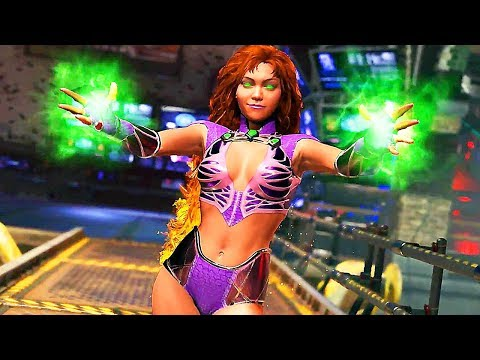 INJUSTICE 2 Starfire Gameplay Trailer (Comic-Con 2017)