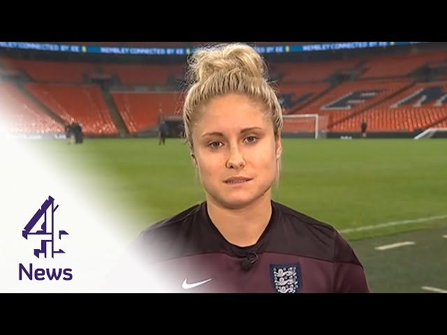 England captain Steph Houghton interview