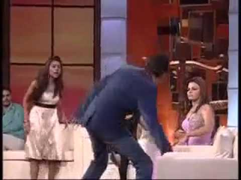 Rakhi Sawant Show- Disgusting fight boy & girl