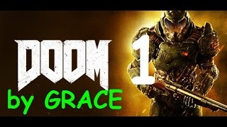 DOOM 4 gameplay ITA ep 1 INIZIAMO LA MATTANZA by GRACE