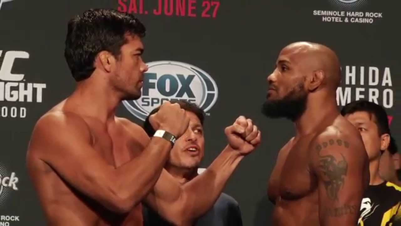 Fight Night Hollywood: Weigh in Highlights